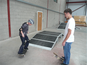 skateboarding classes
