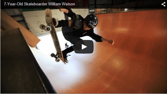 You Must Watch This Little 7 Year-Old Ripper Skate!