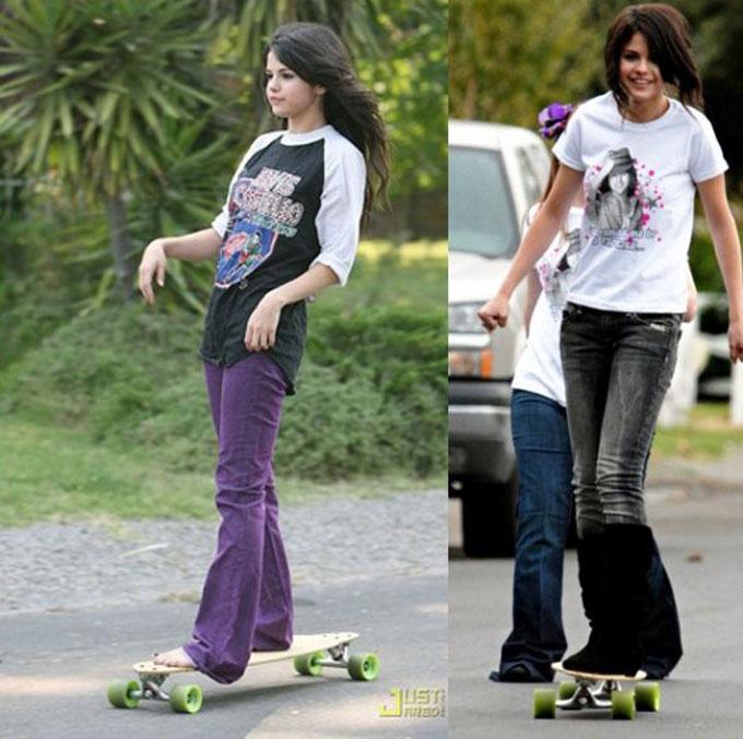 selena-gomez-skateboarder