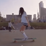 Korean Longboard Dancing Girl Breaks the Internet