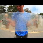Check Out This Homemade Plexiglass Skateboard