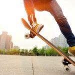 Skateboarding Ollie